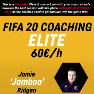 FIFA 20 Coaching – ELITE – Jamie