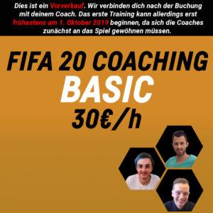 FIFA 20 Coaching – BASIC
