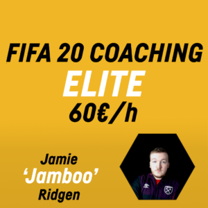 FIFA 20 Coaching – ELITE – Jamie