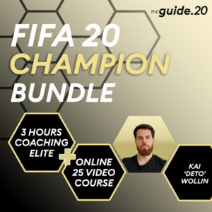 FIFA 20 Coaching – CHAMPION Bundle – deto
